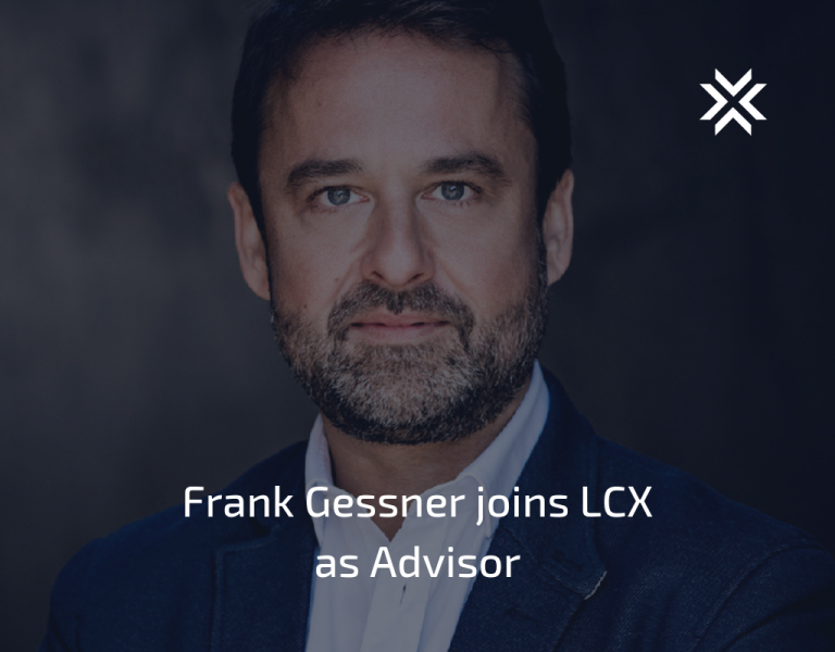 Frank Gessner joins LCX as Advisor