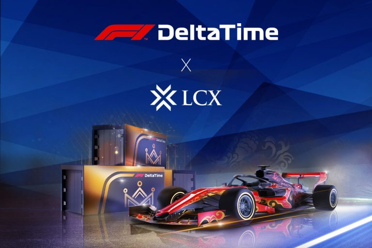 LCX F1 Delta Time - Formula 1 Blockchain Racing Game and Crypto Collectibles